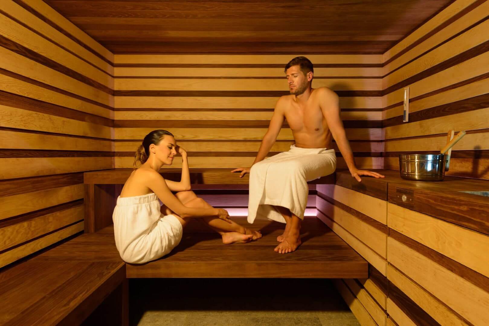 Sauna Finlandese Interna